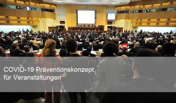 Veranstaltung Präventionskonzept